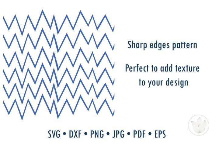 Sharp edges texture pattern svg cut file