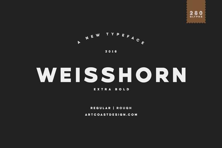 Weisshorn Typeface