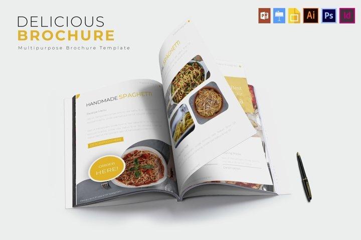 Delicious | Brochure Template