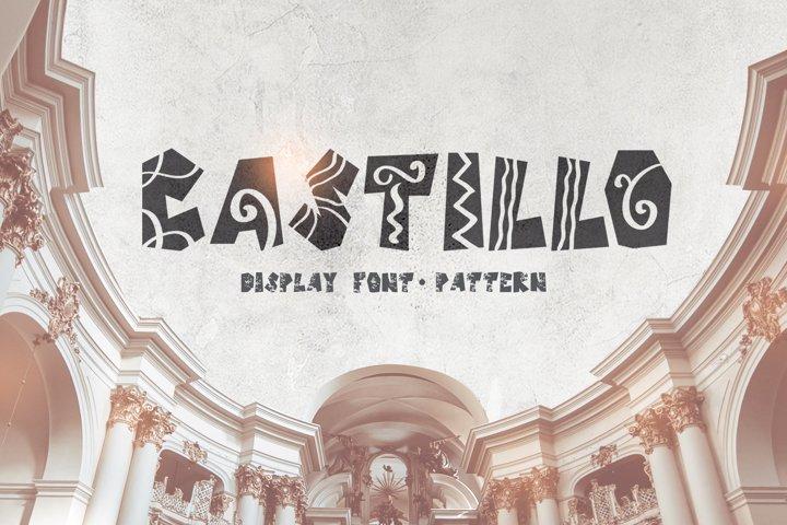 Castillo Scandinavian Font & Pattern