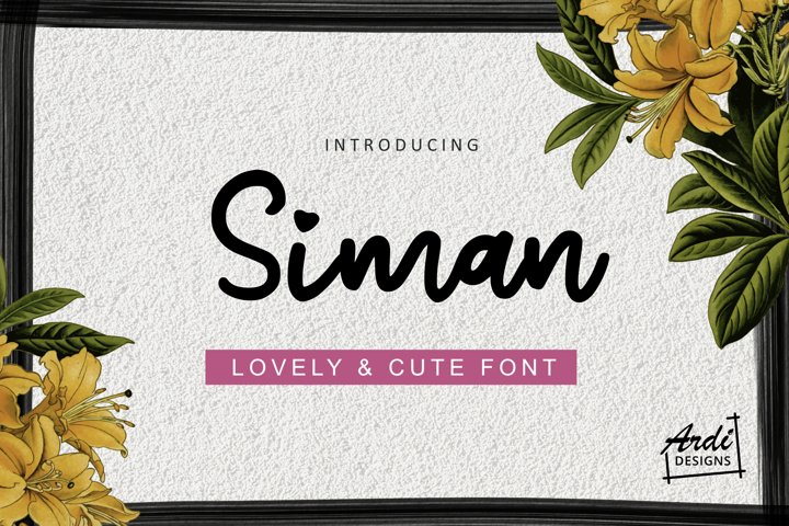 Siman Font