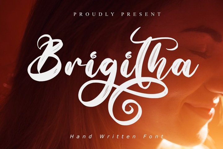 Brigitha - WEB FONT