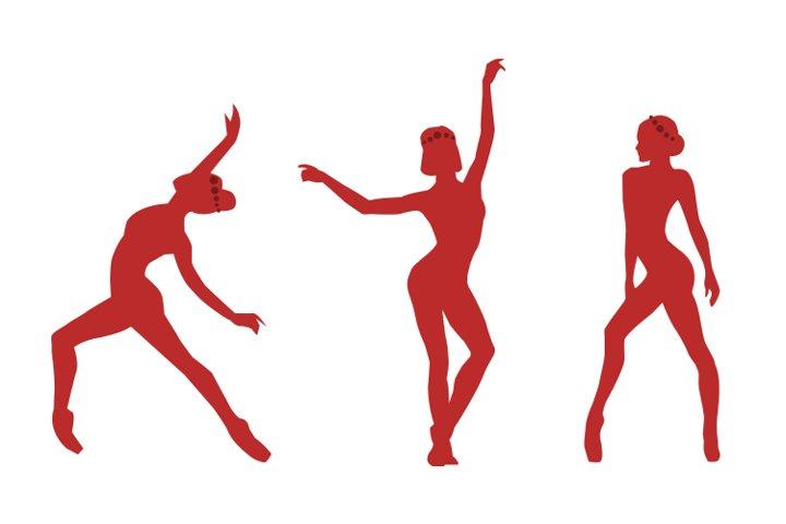 Dance logo design| Silhouette