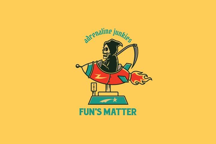Funs Matter Logo Template