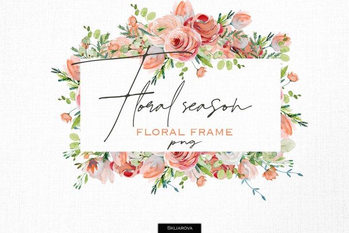 Floral season. Frame#3