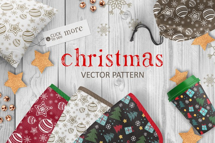 Christmas vector pattern