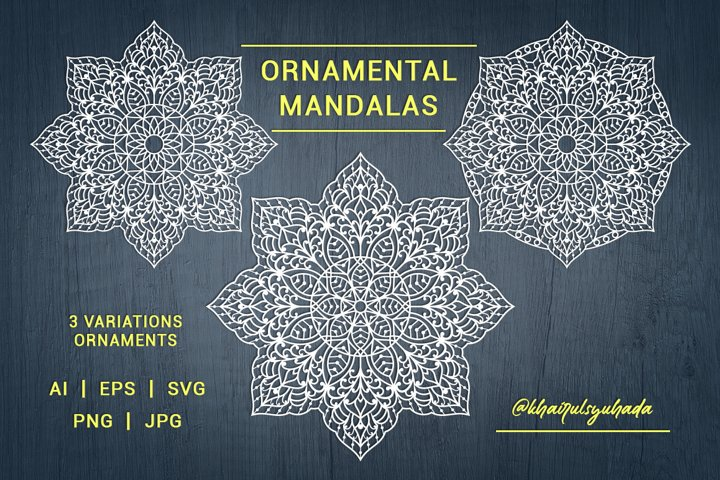 Mandala, Ornamental