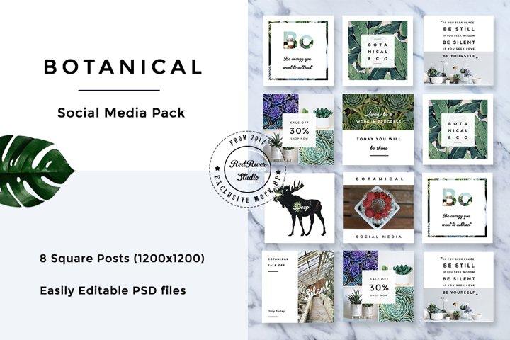Botanical Social Media Pack