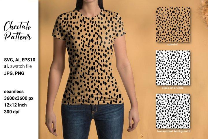 Cheetah print SVG. Cheetah background. Cheetah digital paper