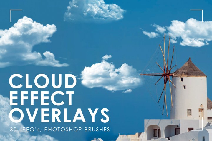 30 Realistic Cloud Overlays