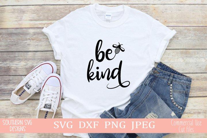 Be Kind SVG-Instant Download-Silhouette SVG-Cricut SVG