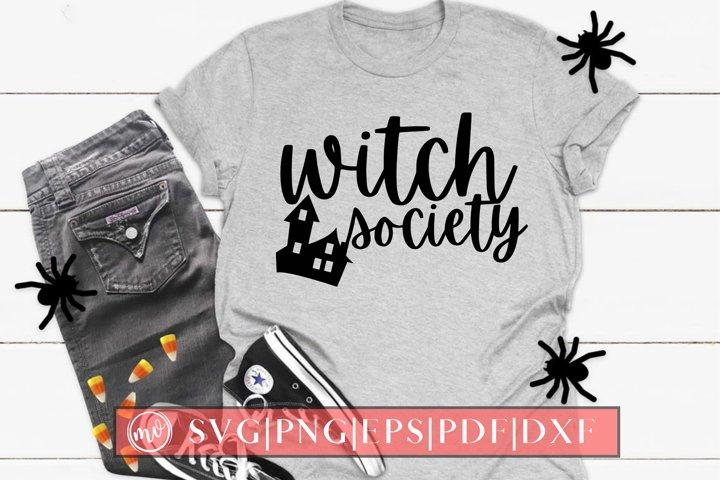 Witch Society SVG Halloween Design