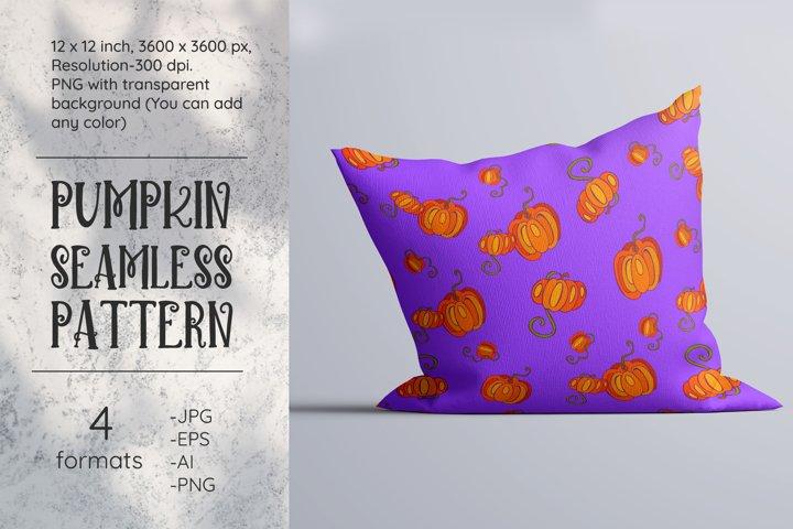 Pumpkin Digital Paper. Pumpkin pattern. PNG. JPG