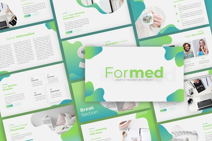 Formed Creative Presentation
