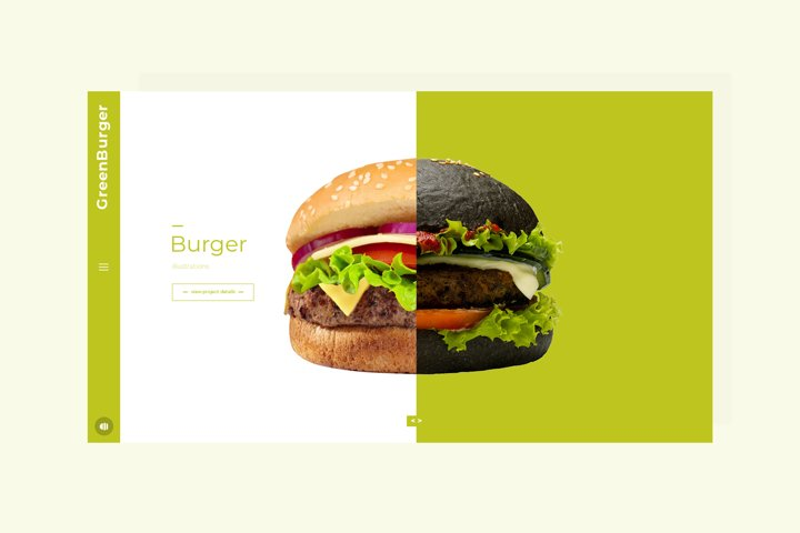 Burger Bar Hero Image Mockup #5
