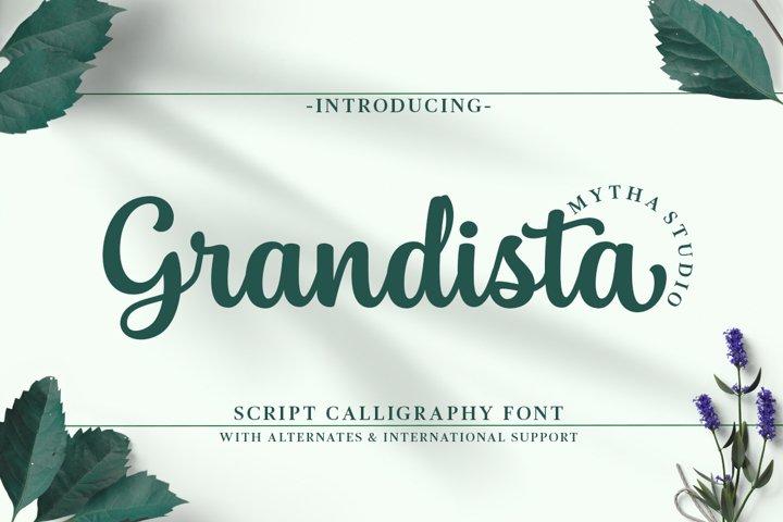 Grandista Script