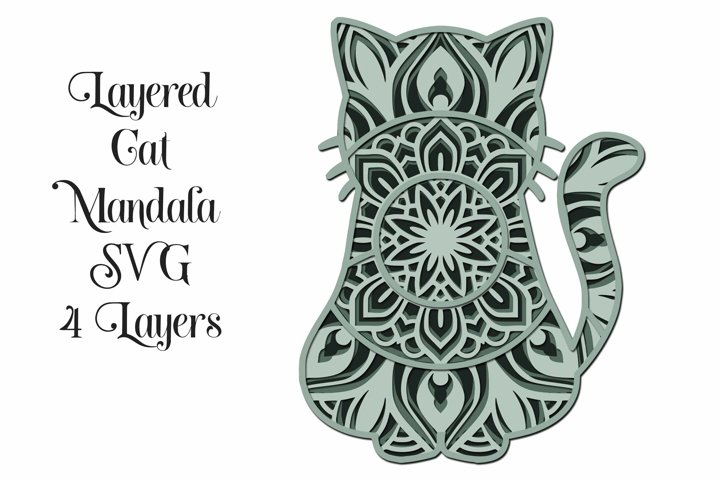 Download Free Paper Cutting Download 3d Layered Mandala Svg And Png 7 Layers Free Design Resources