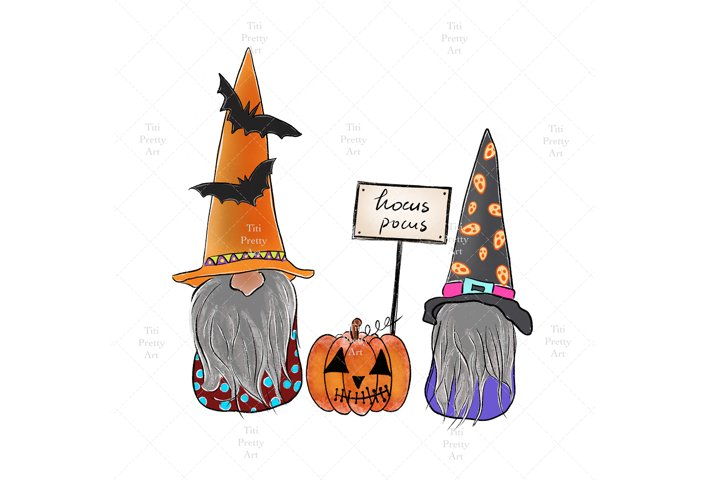 Hocus Pocus Gnome Bundle, Halloween Bundle