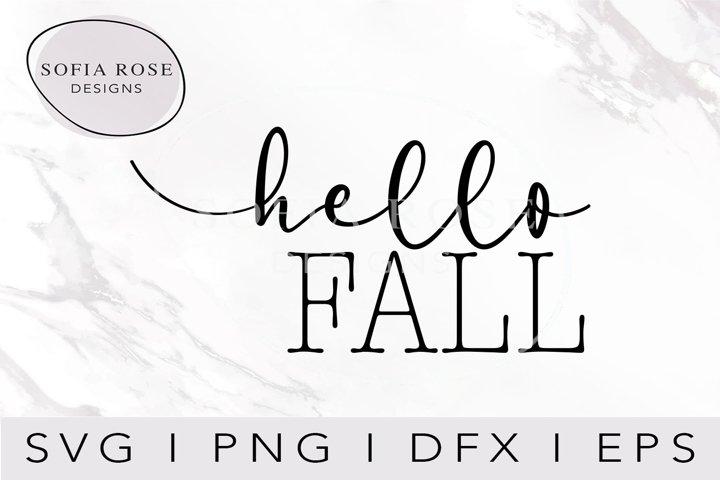 hello FALL SVG-FALL SVG-Hello SVG-Seasons SVG-Clip Art