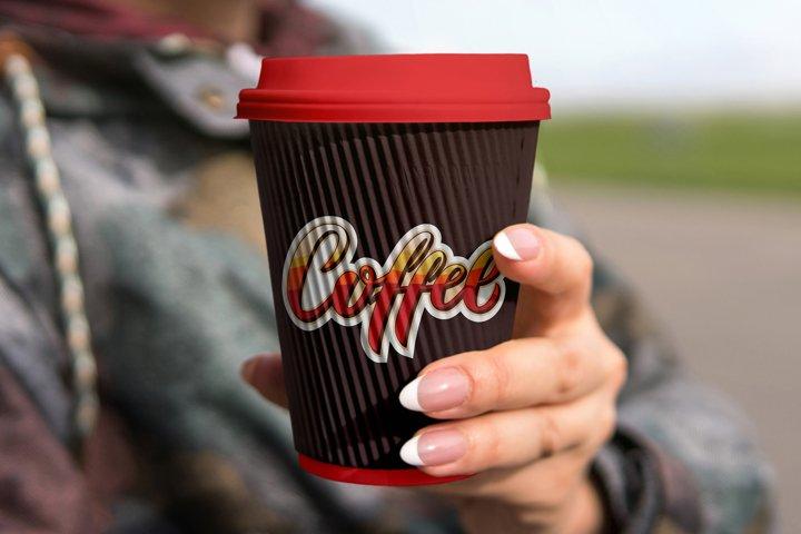 Coffee Lettering Logo