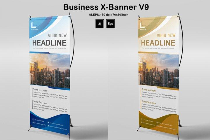 Business X-Banner V9