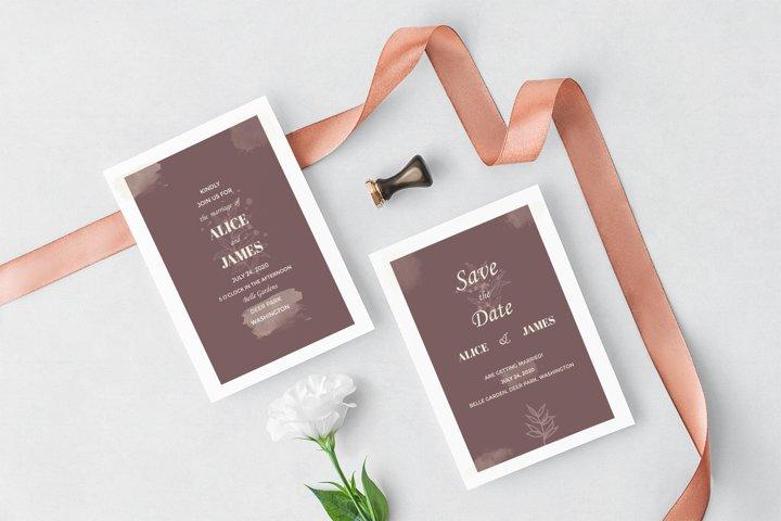 Elegant Wedding Set