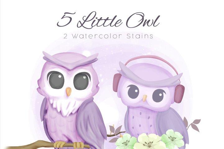 Little Owl Clipart