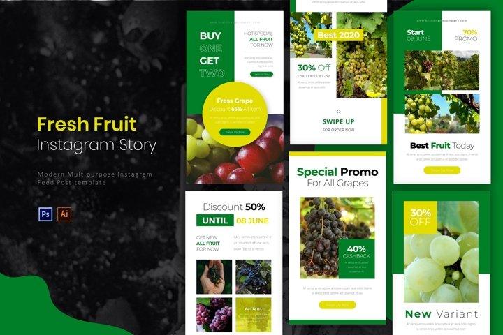 Fresh Fruit | Instagram Story