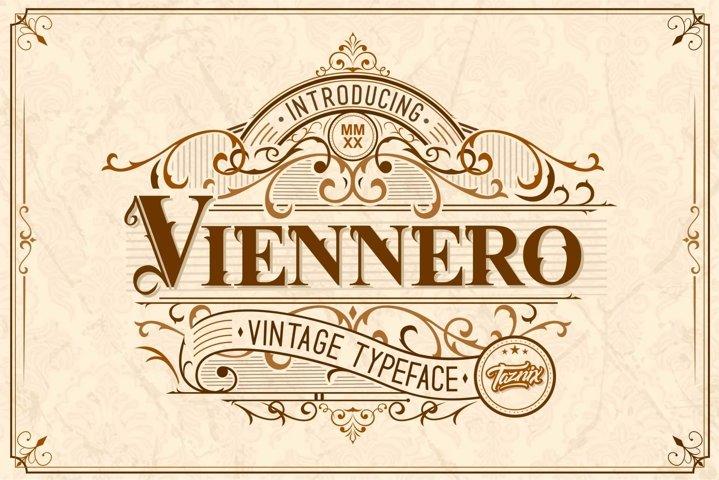 Viennero Vintage Typeface
