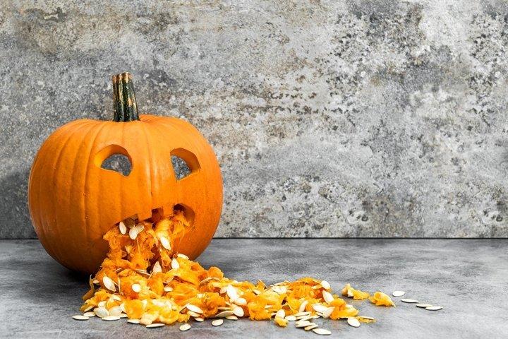 Funny pumpkin Halloween Pumpkin decoration