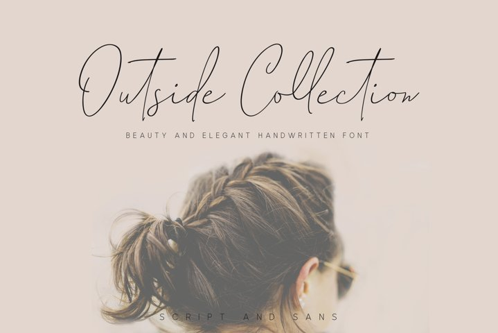 Outside Collection Signature Font