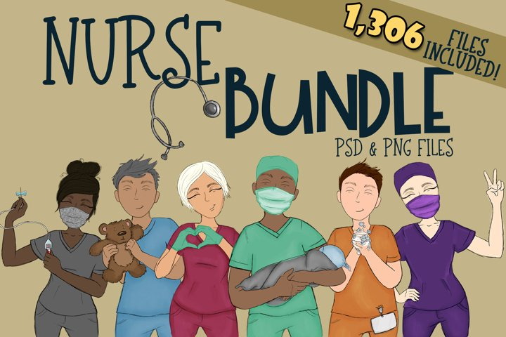 Nurse Builder Bundle| Xray tech| NICU | Dental | Wash Hands