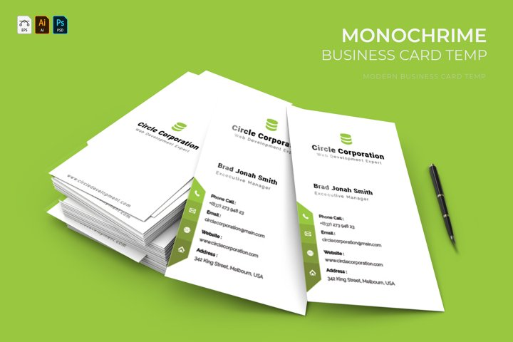 Monochrime | Business Card