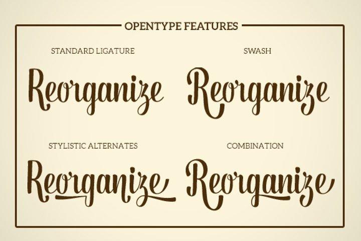 Dorayaki Script - Free Font of The Week Design2