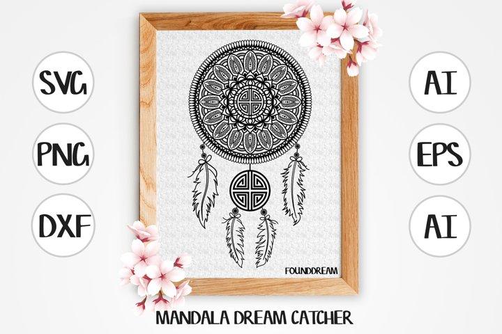 Mandala Dream Catcher | svg