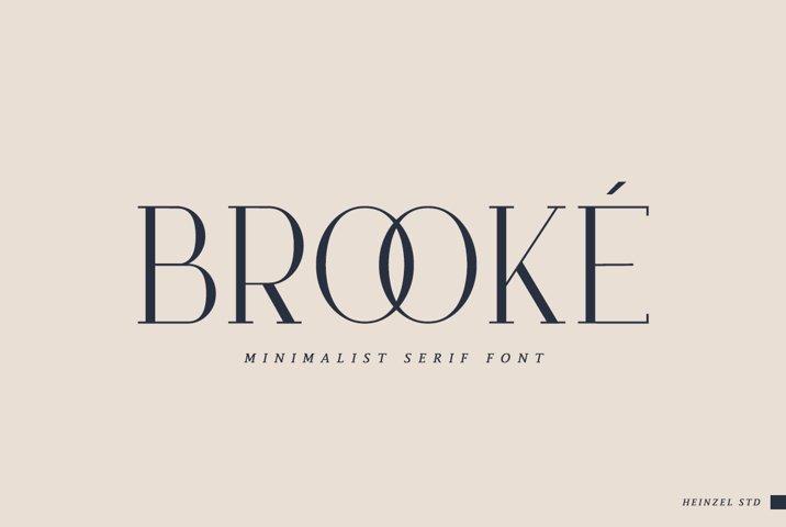 Brooké Serif