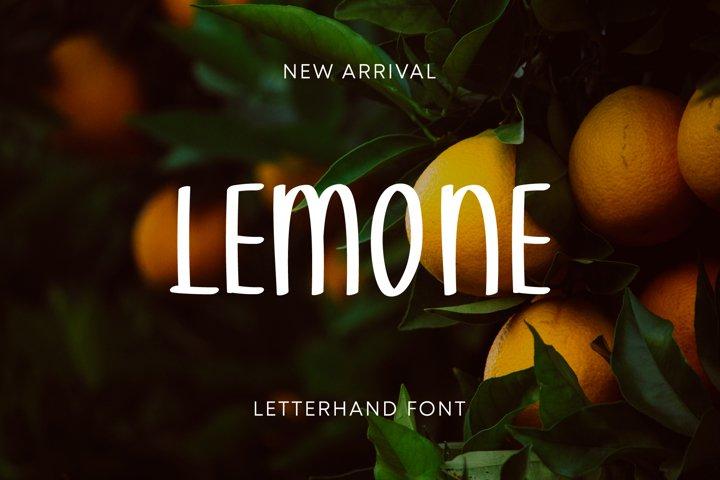 Lemone Summer Font