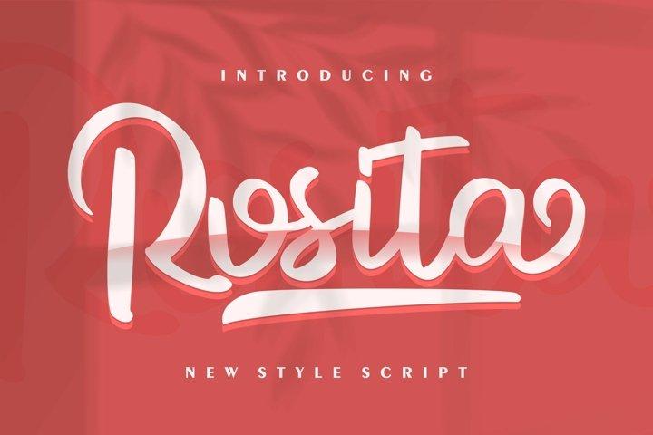 Rosita | New Style Script
