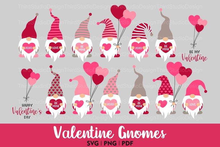 Valentine Day svg Bundle   Valentine Gnome svg   Gnomes svg