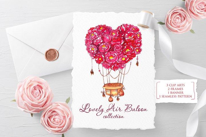 Lovely balloon illustration
