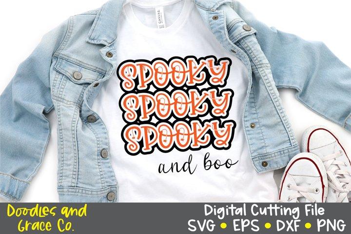 Halloween SVG - Spooky SVG - SVG - PNG - EPS - DXF
