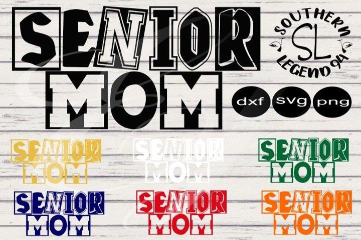 Senior Mom 7 with Bonus 3 extra colors set bundle dxf svg pn
