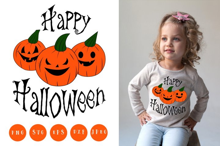 Happy Halloween Svg | Cut Files
