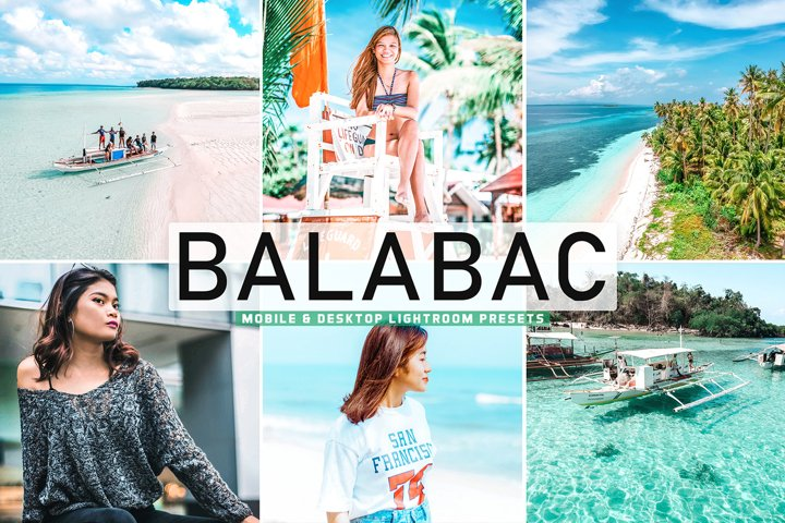 Balabac Mobile & Desktop Lightroom Presets
