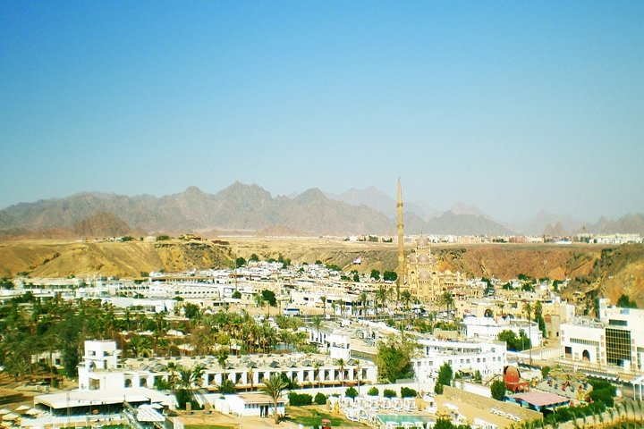 Panorama central part of Sharm el Sheikh.Egypt