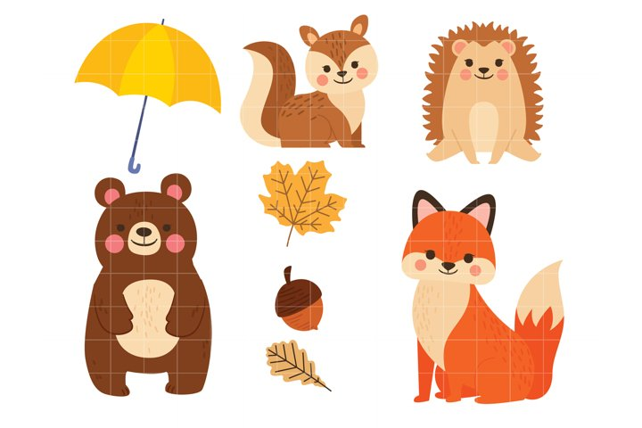 Fall Season Animals