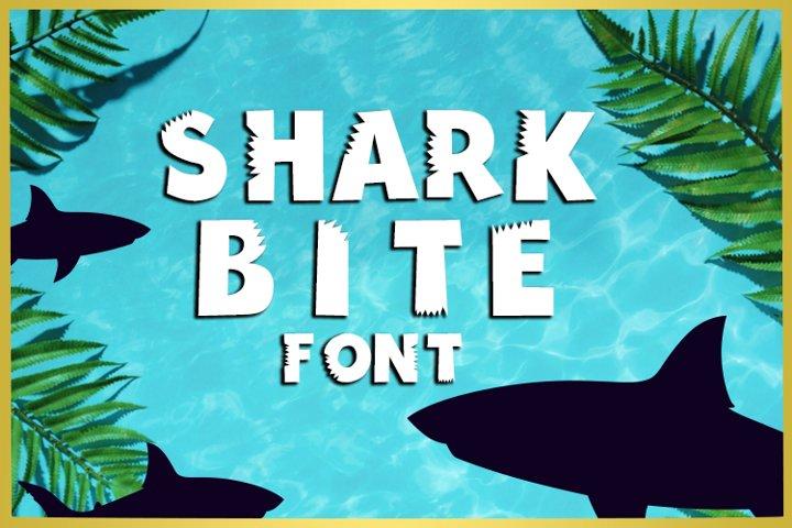 Shark Bite Font