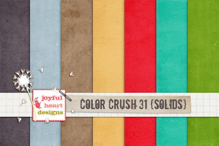 Color Crush 31 {solids}