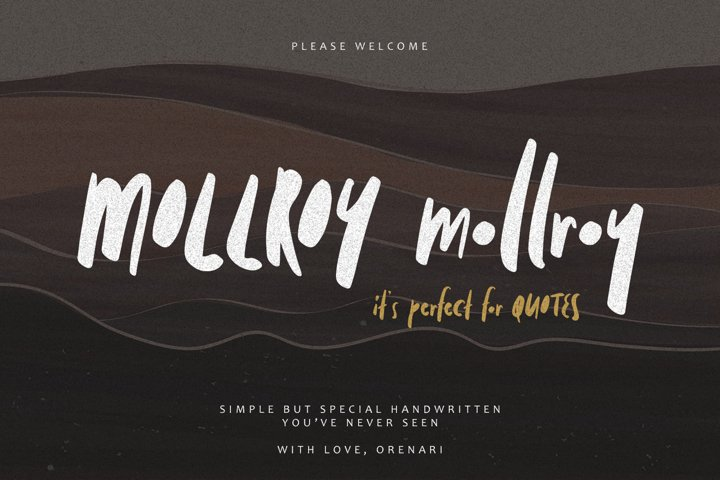 Mollroy - Perfect for Quotes