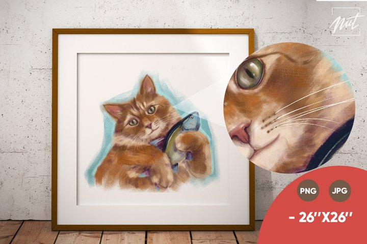 Cat face png. sublimation tshirt design. Sublimation designs